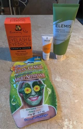 Eyelash and eyebrow growth serum, with extras