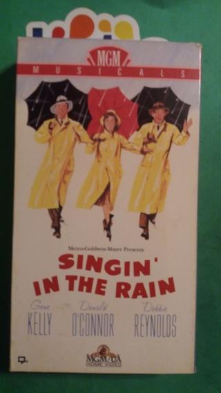 VHS movie  singin in the rain  free shipping