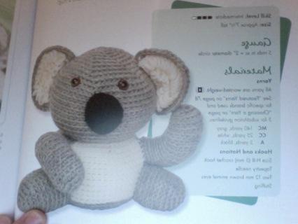 Free Ricky The Kutie Koala And Scenic Koala Blanket Crochet Pattern