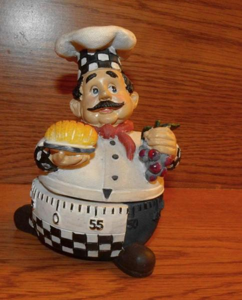 Fat Chef Kitchen: Free: New~ Fat Chef Kitchen Timer (Possible Free Shipping