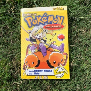 Pokémon Adventures Yellow Manga