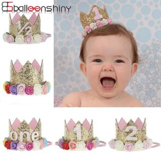 BalleenShiny Baby Rose Flower Crown Headband Colorful Lovely Children Kids Birthday Gift Hair Band