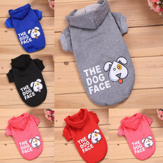 [GIN FOR FREE SHIPPING] Dog Pet Warm Winter Coat Jacket Soft Fleece Puppy Hoodie