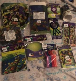 Teenage mutant ninja turtles birthday supplies