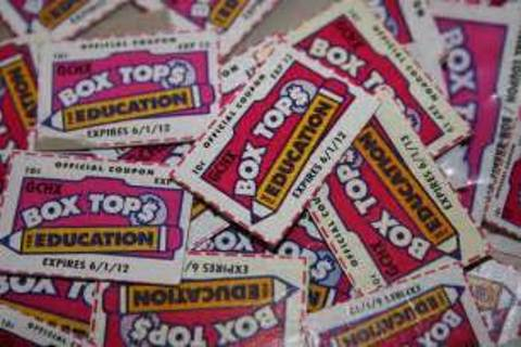 40+ box tops for education