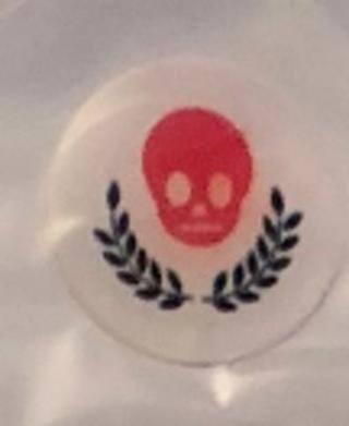 iPhone / iPad Home Button Sticker - Goth / Punk