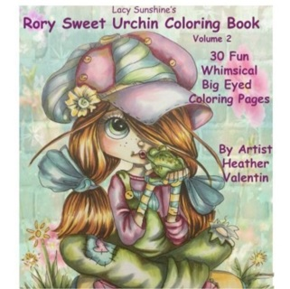 Rory Sweet Urchin Adult Coloring Book