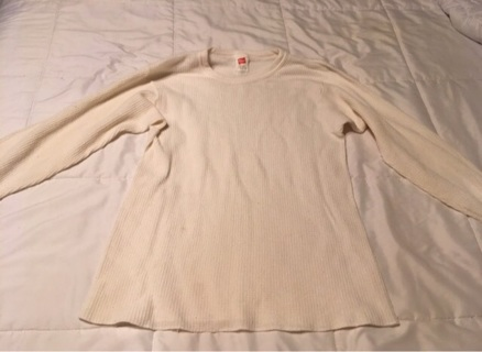Men's Undershirt Size Large Made By Hanes