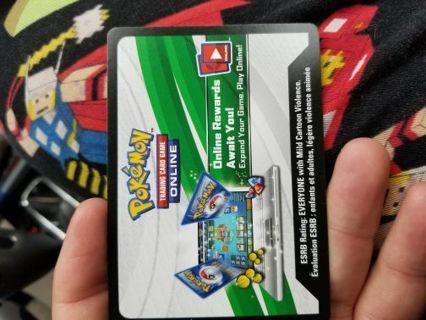 Pokemon tcgo digital code