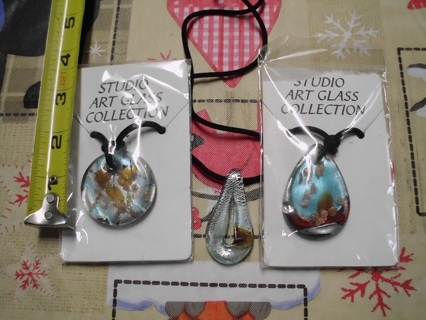 Lot of 3  Acrylic necklaces