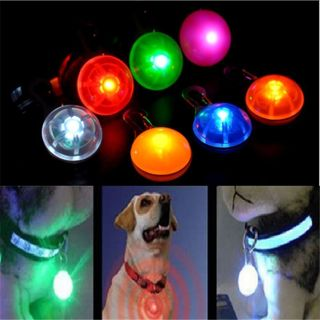 New Pet Dog Cat LED Flashing Collar Safety Light