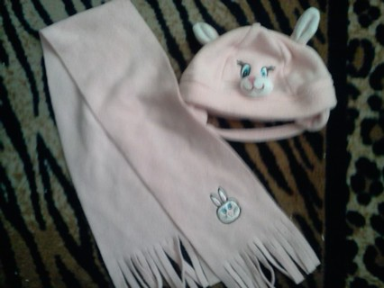 Scarf and Hat for your baby girl