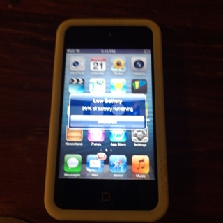 Apple iPod Touch (4th Generation) ‑ 8 GB ‑ Black