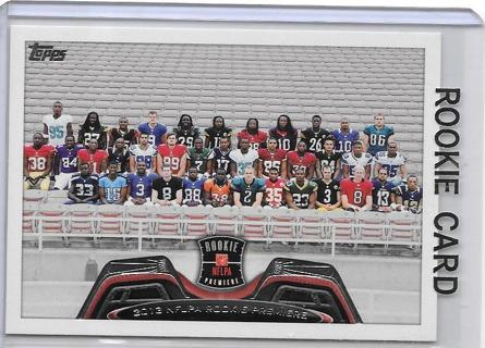 2013 Topps - Rookie Premiere  Football