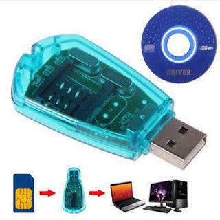 Hot USB SIM Card Reader GSM CDMA Cellphone SMS Backup High Quanlity Professional