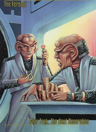 1993 Star Trek Collectible/Trade Card: The Next Generation: The Ferengi