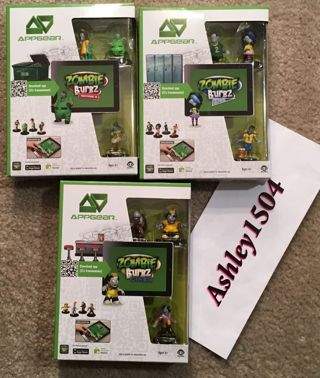 NEW ZOMBIE BURBZ LEVEL UNLOCK PACKS TOY FIGURES INCLUDED FREE SHIPPING