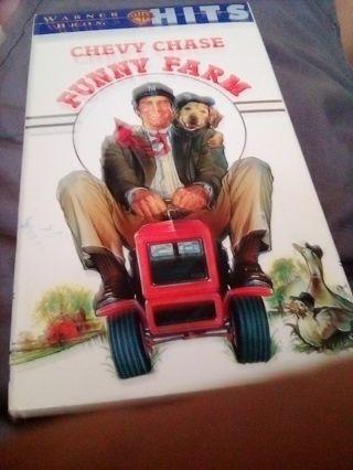Funny Farm VHS