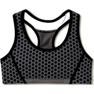 Girls SZ XL Champion Performance Racerback Sport Bra Black Print BNWT