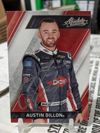 NASCAR Autographed card. Pick one or more for your winning bid. Read description