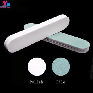 10pcs Nail Buffer File Block Mini Sponge Buffing Sanding Polish Grit Polisher Makeup Pedicure Mani