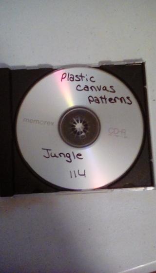 Animal plastic canvas pattern cds