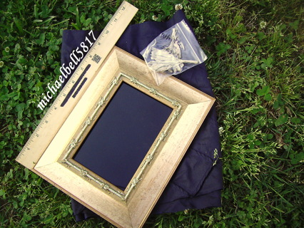 Brand New Scrying Mirror with Blessed Sea Salt/ White Sage/Black Cover Cloth!!!