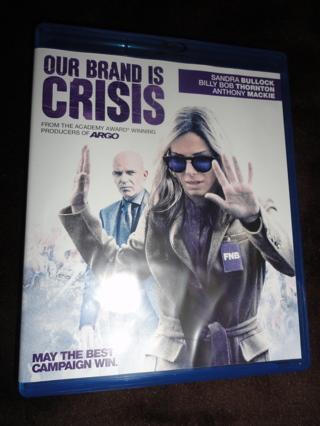 Our Brand is Crisis Blu Ray Sandra Bullock BluRay