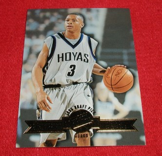 Free Allen Iverson 1996 Press Pass Basketball Rc Rookie