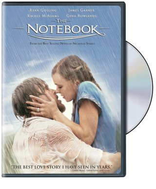 The Notebook dvd widescreen