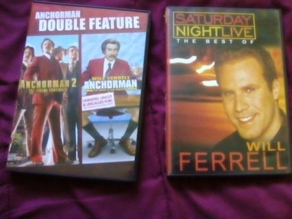 LOT OF 3 DVDS