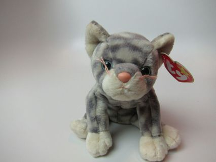 be8b120b6 Free: Ty Beanie Baby Silver the Cat - Dolls & Stuffed Animals ...