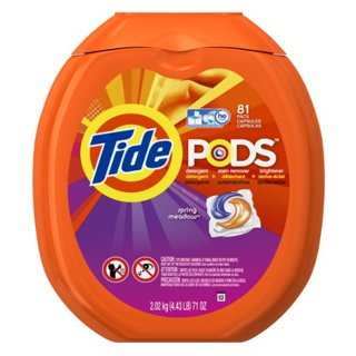 ✔ TIDE PODS SPRING MEADOW HE - 81 COUNT TUB ✔