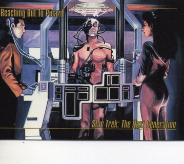 1993 Star Trek Collectible/Trade Card: The Next Generation: Reaching Out to Picard