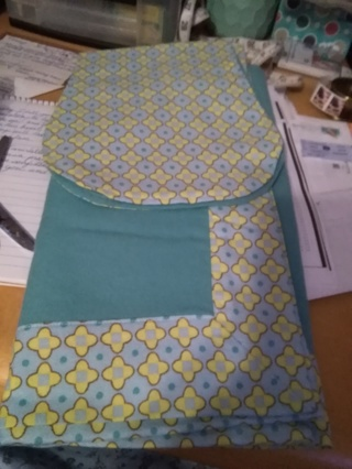 Burp Cloth and Receiving Blanket set - Choice