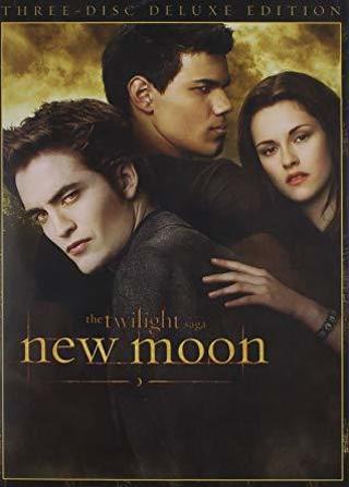Twilight Saga New Moon dvd WS single disc