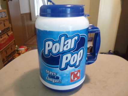 Free: 100 ounce Polar Pop Circle K Large Drinking Mug with