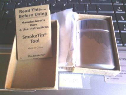 Marlboro travel cigarette snuffer/disposal