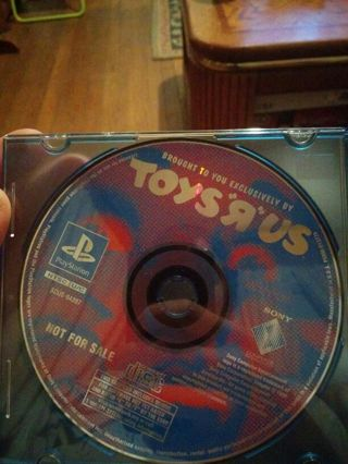 Toysrus PS one sample game