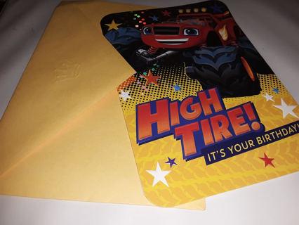 BN Blaze the Monster Machine Birthday Card