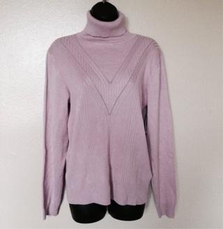 NWTs $48 Karson & Taylor Mauve Sweater, Size XL
