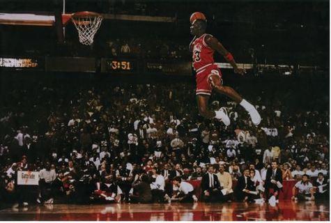 "Michael Jordan Dunk Poster NEW 24x36"" FREE SHIPPING!"