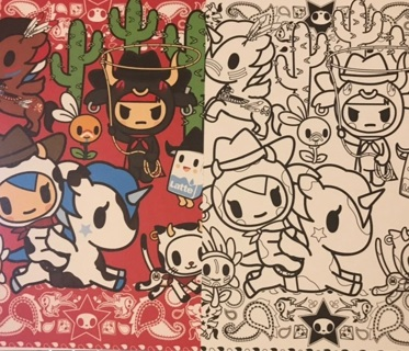Kawaii Tokidoki post card