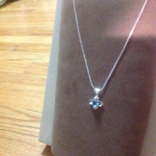 Aquamarine Necklace.