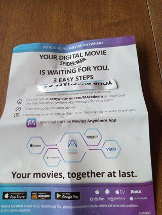 Digital movie download