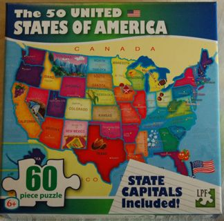 Educational United States Puzzle