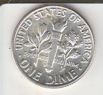 1963-D B U Silver Dime
