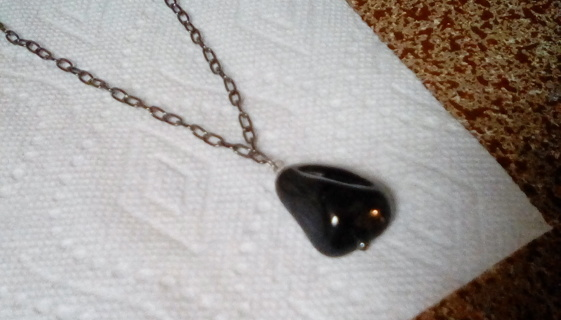 Handmade natural gemstone necklace