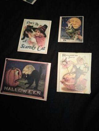 4 Die Cuts Halloween!!