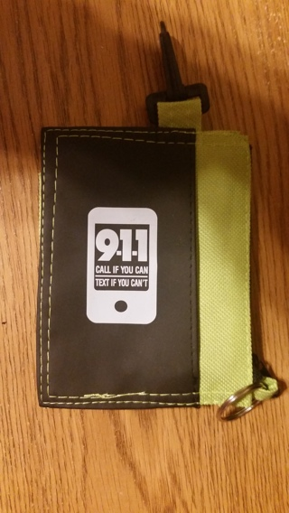 911 Clip On Coin Pouch - NEW